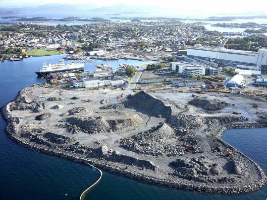 Det nye industriområdet på Buøy er over 100 dekar.
