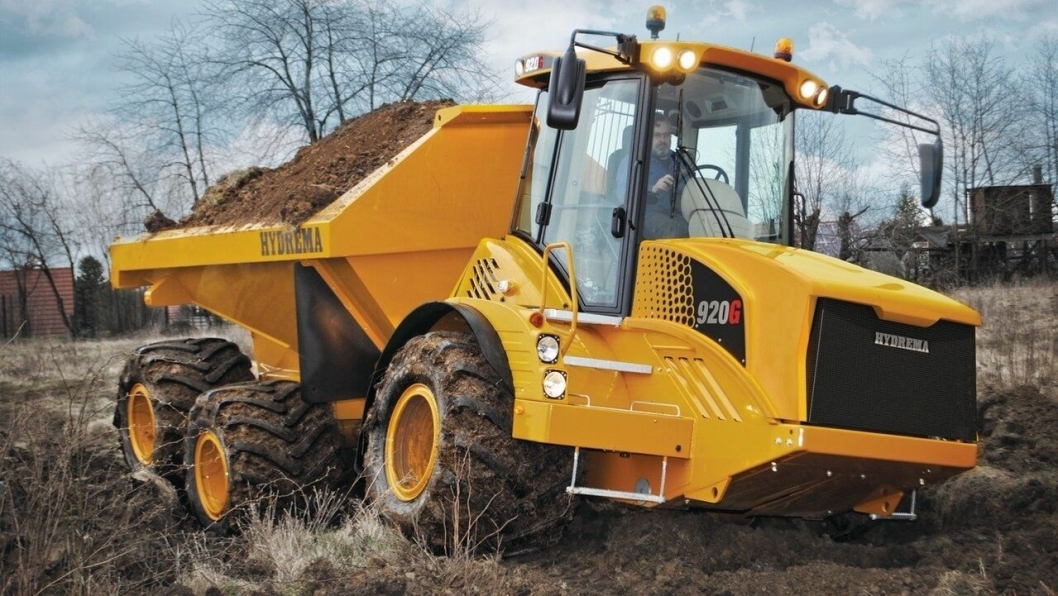 Nye Hydrema 920G har et marktrykk på 83,3 kPa lastet med 18 tonn, ifølge Hydrema.