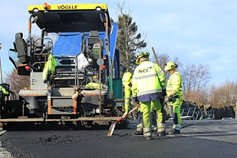 Femårs asfaltkontrakt for NCC