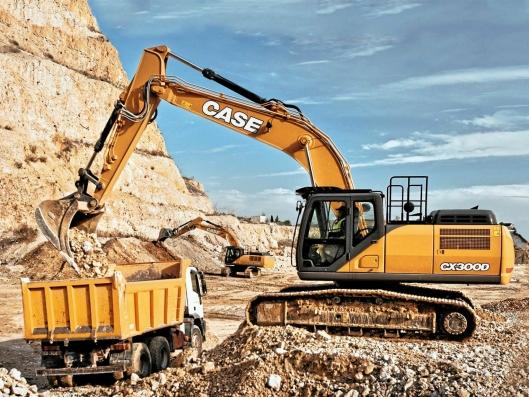 KREFTER: 30-tonneren CX300D har 6% større gravekrefter enn forgjengeren.