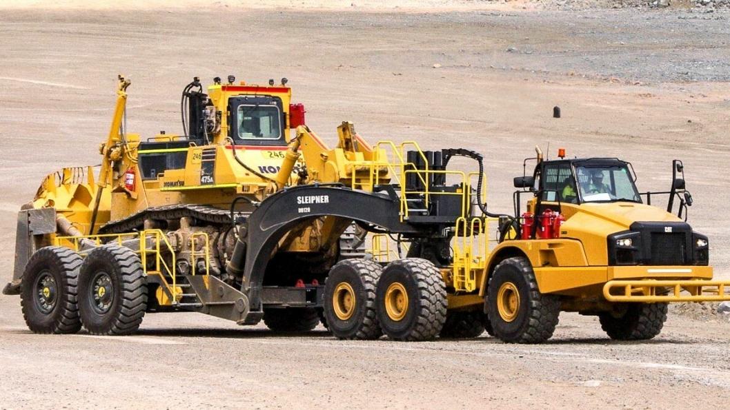 Sleipner DB120 i bruk i en gruve i Sør-Afrika. Gruven er ti km og har 13 dozere. Etter at de tok DB120 i bruk, er vedlikeholds-kostnadene nå lavere på 13 dozere enn det var på ni av de 13 tidligere.