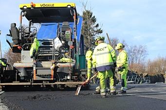 NCC tildelt asfaltkontrakter på Vestlandet