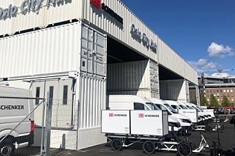 Schenker-topp åpnet Oslo-hub