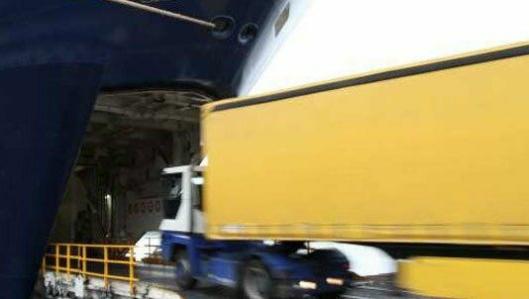 Stena Line-fergene frakter gods i tillegg til passasjerer fra Oslo til kontinentet.