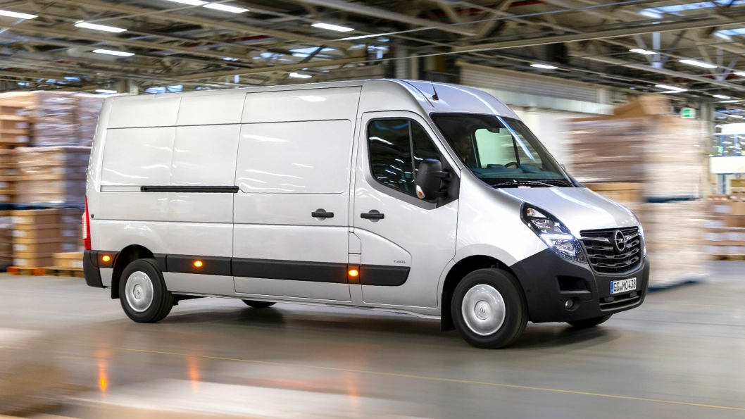 Oppgradert Opel Movano.