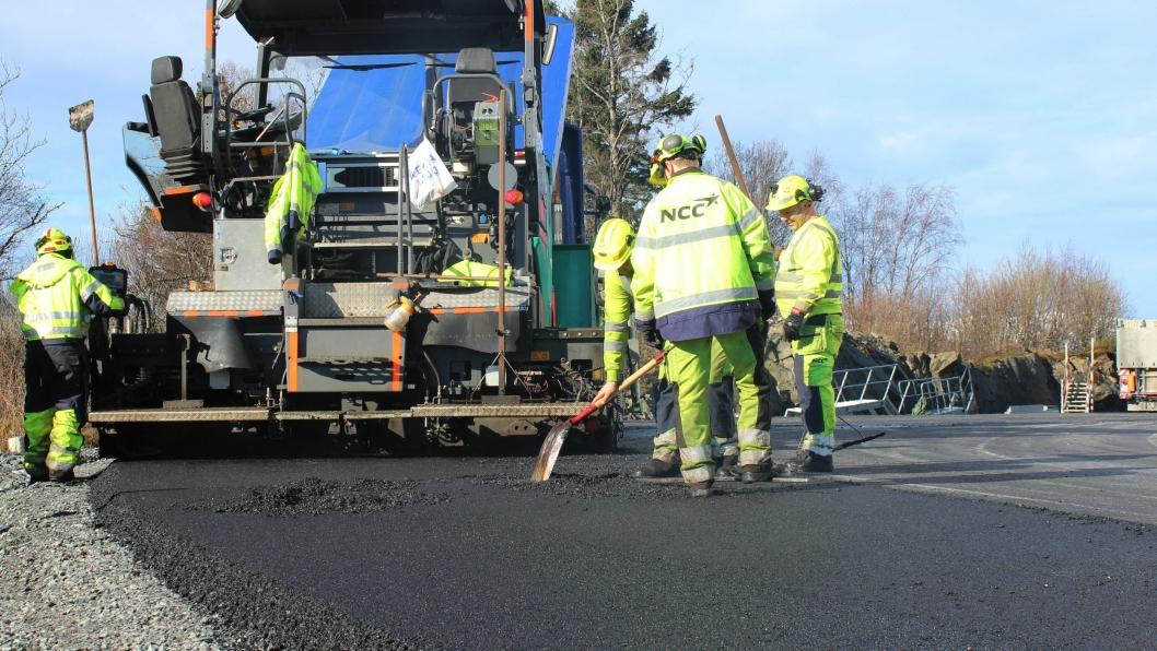 NCC Industry har inngåt avtale om asfaltering med kommunene Voss, Os og Fusa.
