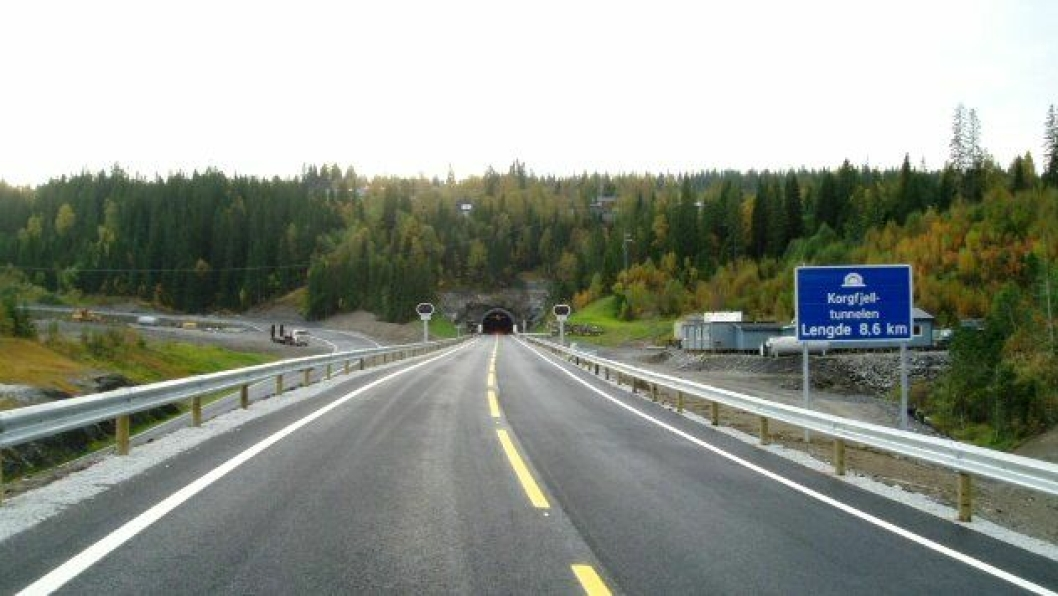 Korgfjelltunnelen foto SVV