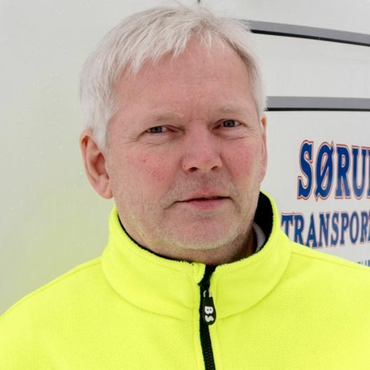 Harry Nilsen - daglig leder og eier i Sørum Transport.