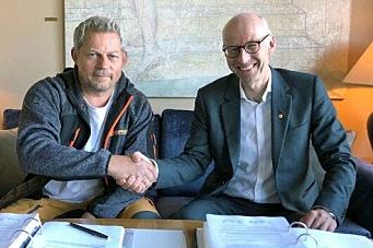 Signerte driftskontrakt for Østfold nord