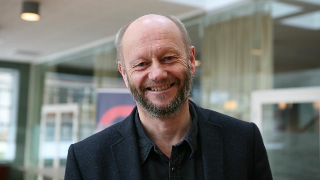 Norges fremste industrimann, Stein Lier-Hansen, understreker at det går for sent, og at politiske myndigheter viser for lite engasjement for en mer miljøvennlig transport. Foto: Per Dagfinn Wolden