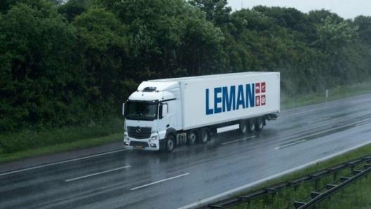 Lastebilen har blitt et viktig redskap for å nå målene i Leman.