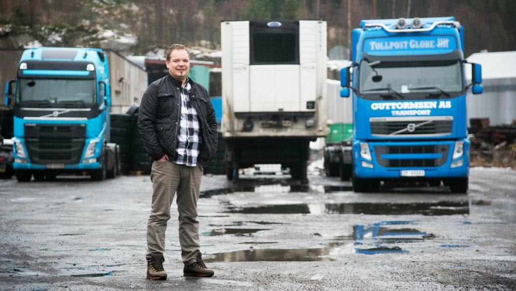 Jørn-Are Guttormsen driver nå 35 biler. Nøkkelen for bra butikk er utnyttelse av utstyret og fokus på kostnader.