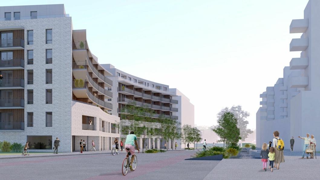 206 nye boliger skal bygges på Ensjø.