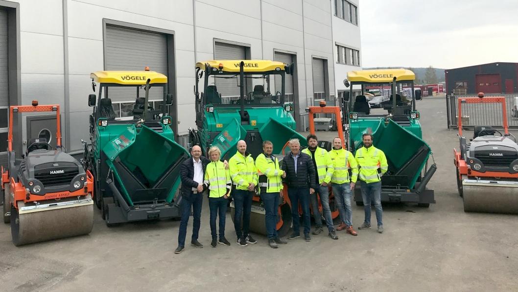 Fra Venstre: Ole Morten Pettersen, Carl Wollebæk, Alexander Storsveen, Erik Wollebæk, Rune Gulli, Robert Evensson, Grim Fallingen og Jan Andre Nytun.