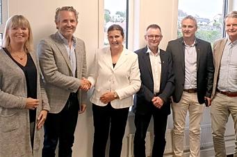 Nye Veier og Risa signerte veidrift-kontrakt