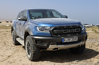 Ford Ranger Raptor klar