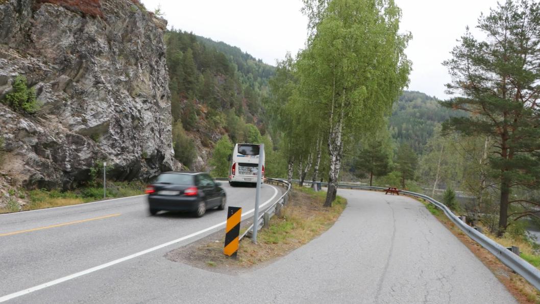 Hovden Hytteservice AS kom best ut i konkurransen om å få bygge ny riksveg 36 langs Seljordsvannet.