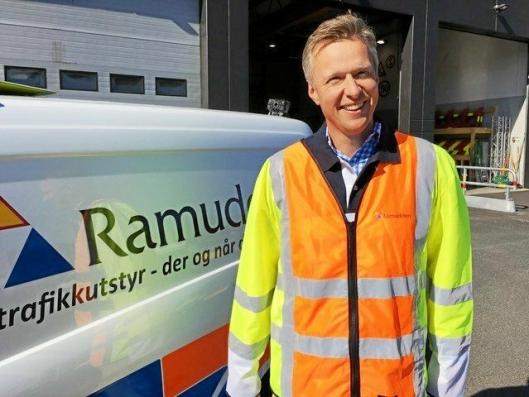 UTVIKLER NYE LØSNINGER: Adm. direktør Jon Ola Stokke og hans team i Ramudden AS.