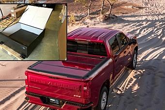 ADR-godkjent transportkiste til pickup-lasteplan