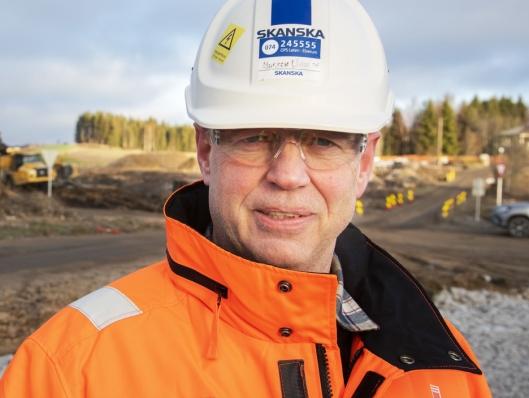 VELDIG FORNØYD: Daglig leder Morten Wangen i Hedmarksvegen AS er strålende fornøyd både med produksjonen og at ingen er skadet det første året.