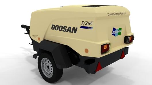Rosendal Maskin AS overtar agenturet på Doosan Portable Power dieseldrevne mobile lavtrykkskompressorer under 17 bar i Norge.