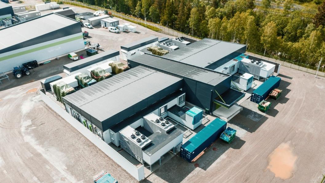 Volkswagen åpnet karbonnøytralt datasenter på Rjukan.