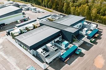 VW åpnet karbonnøytralt datasenter i Norge