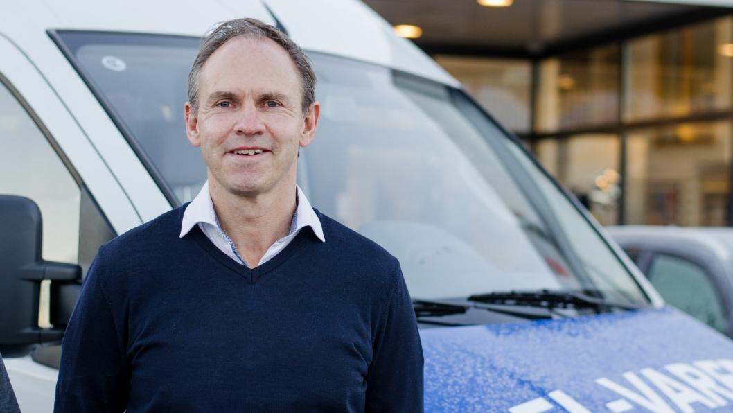 Maxus er Norges ferskeste bilmerke, og RSA-sjef Frank Dunvold sier interessen er stor rundt den elektriske varebilen EV80.