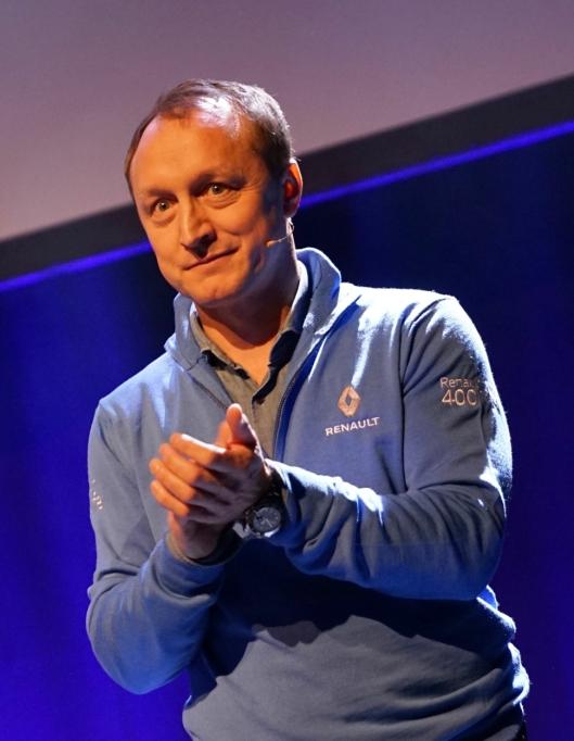 Renault-sjef Nils Henrik Holmen.