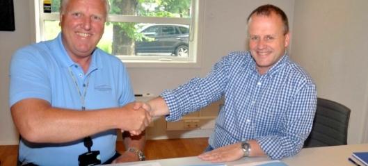 Marthinsen & Duvholt signerte E134-kontrakt