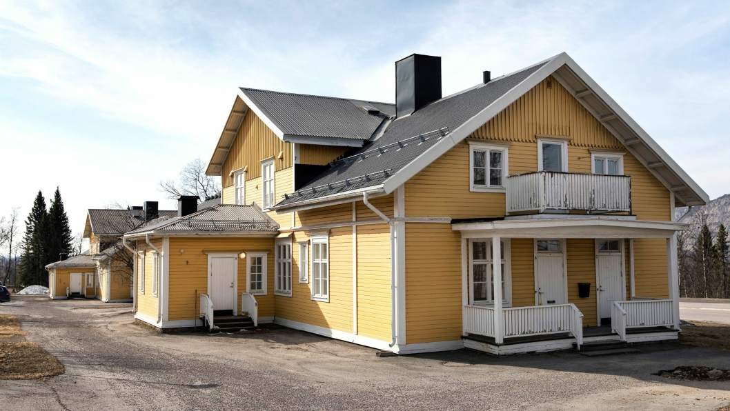 Trehusene på «Gula raden» i Kiruna skal flyttes og bevares for ettertiden.