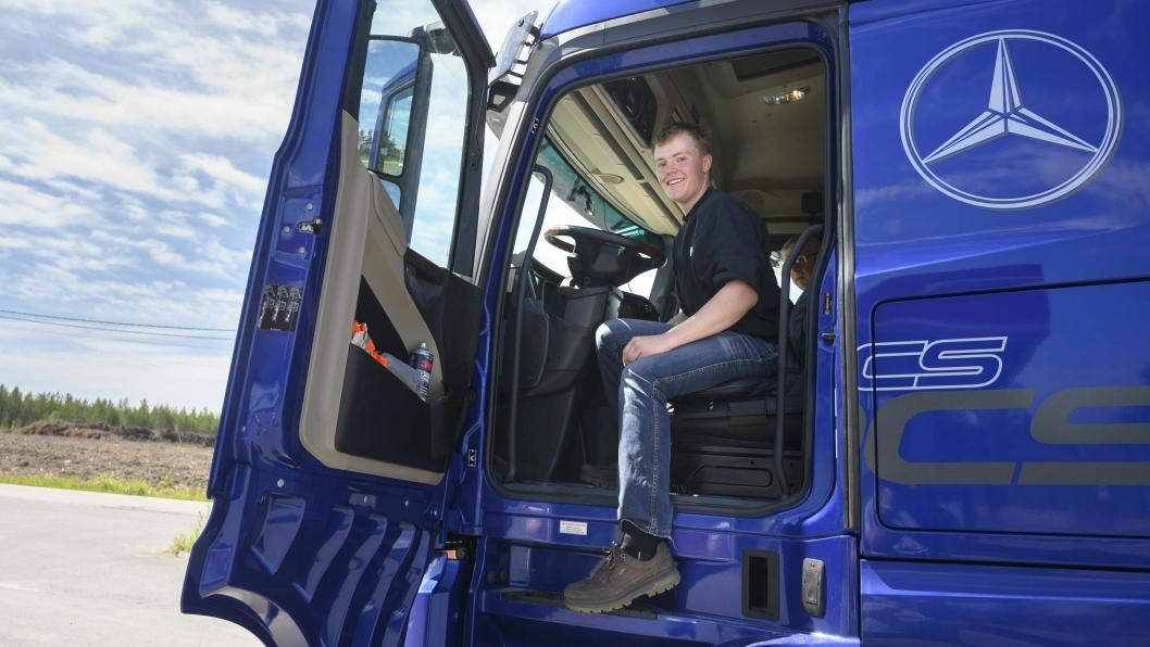 VINNEREN: 22-åringen Ruben Gullerud kjørte både billigere og mer effektivt enn sine to godt voksne konkurenter.
