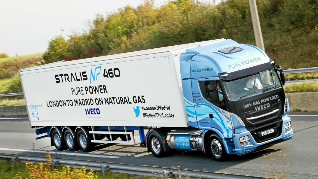 Det meste av kommunikasjonen ut mot pressen har handlet om gassbiler hos Iveco de siste årene. Vil dette også gjelde den nye tungbilserien som lanseres ikveld?Foto: Iveco