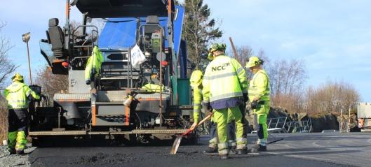 NCC tildelt asfaltering for 19 kommuner