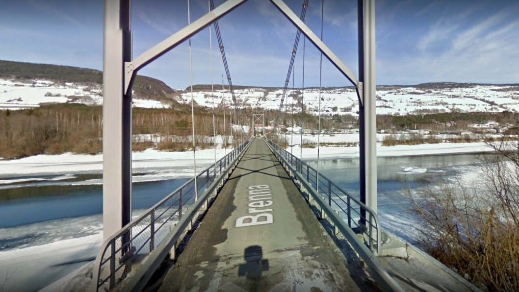 Bilde av Breivegen bru fra 2010.