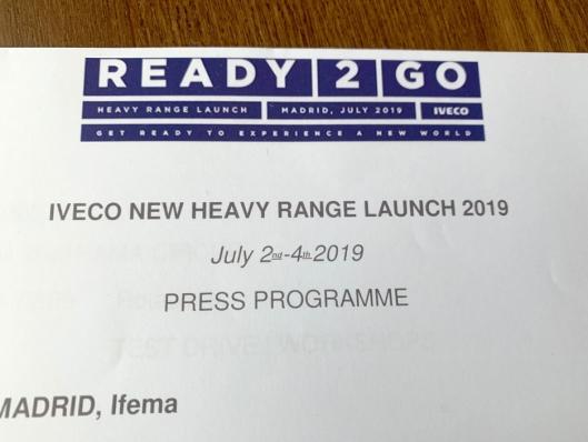 Vanligvis ville vi vært invitert til lansering av ny Iveco Stralis. Formuleringen på invitasjonen er med på å understreke at her kommer det et nytt navn.