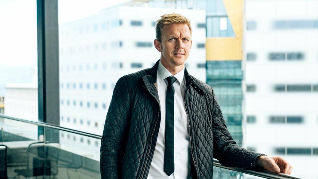 Rune Stene tok over som leder for Acusto 1. juli 2019.