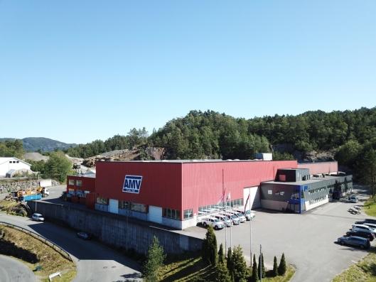 Andersen Mek. Verksted AS har hovedkontor/produksjonslinje/verksted i Flekkefjord.