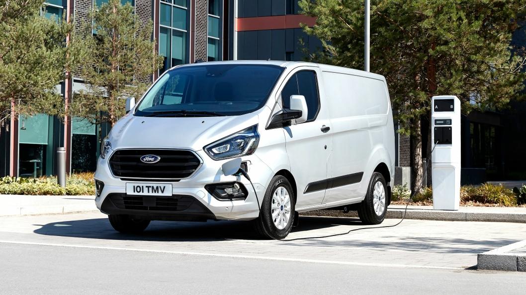 Ford Transit Custom er testet det siste året av bedrifter i London. Den kommer for salg i løpet av 2019.