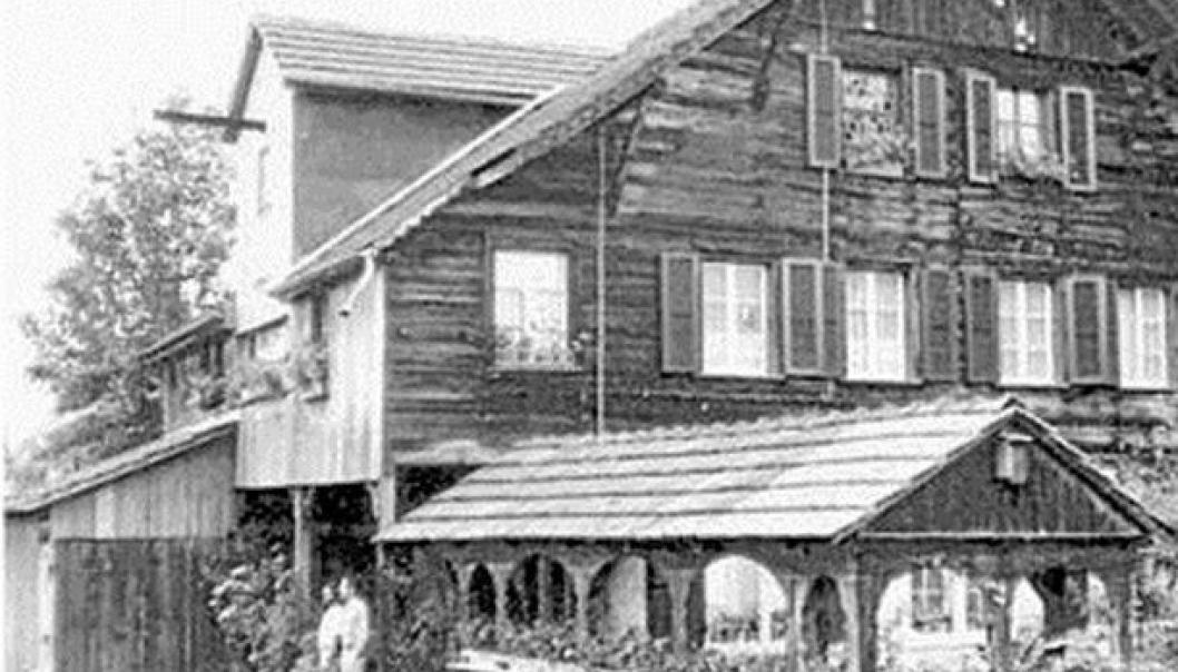 HER STARTET DET: For 150 år siden startet Jakob Ammann med smie i sitt hjem i Madiswil.