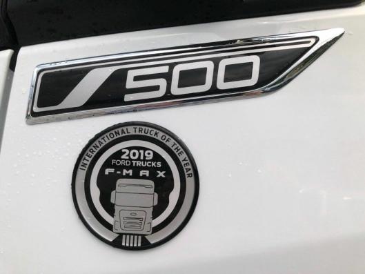 Ford F-Maz er kåret til International Truck of the Year 2019.