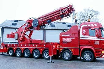 450 tonnmeterkran