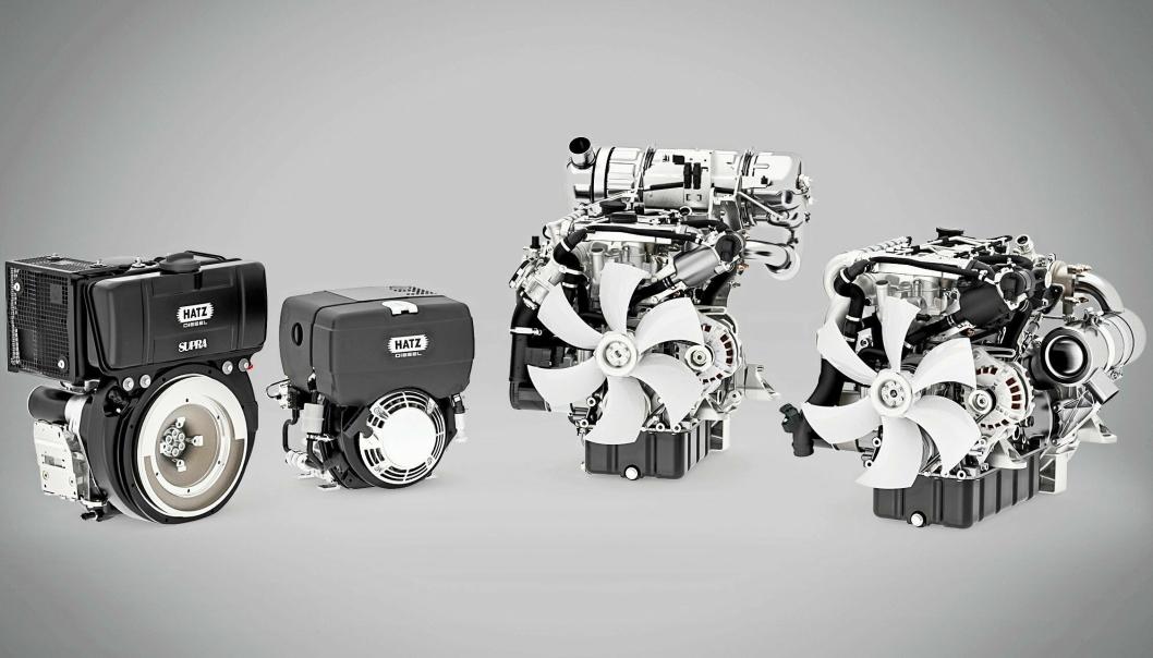 Anleggsgruppen AS tar over salgs- og serviceansvaret i Norge for de tyske Hatz-motorene.