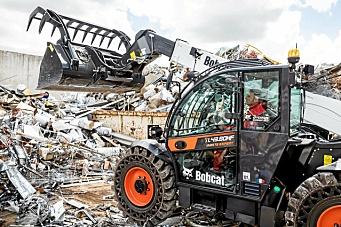 Bobcats nye «Waste Expert» teleskoplastere