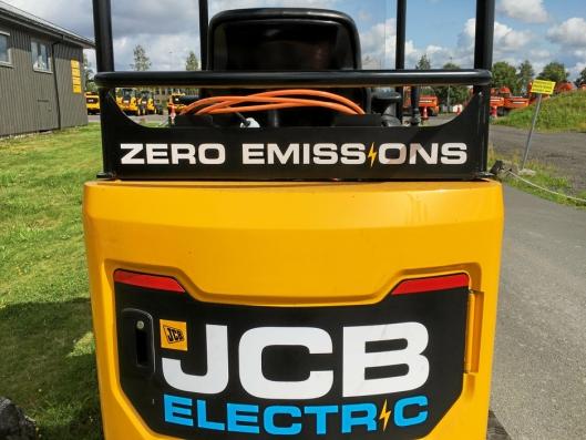 Ingen tvil om hva som er energikilden på denne maskinen. Foto: Rosendal Maskin