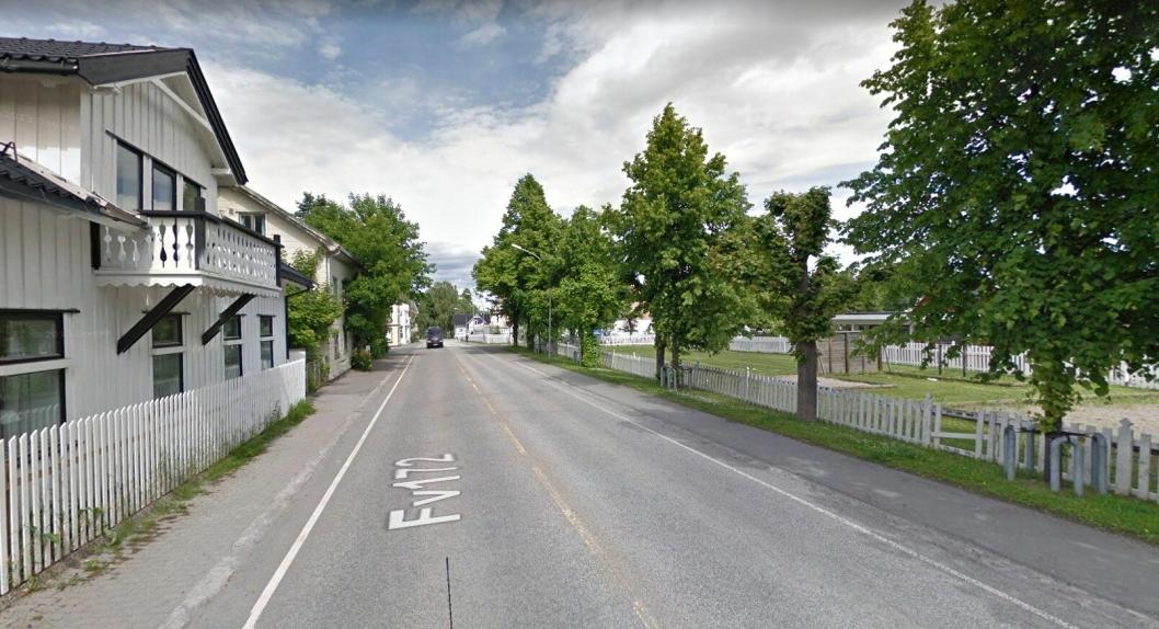 På fylkesvei 172 Hans Mustads gate i Gjøvik skal det bli nytt opplegg med felt for gående, syklende og (som før) selvfølgelig for biler.
