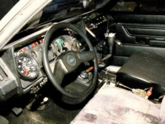 OMBYGGET: Slik ser det ut i førerhuset på Colonias Ford/MAN/M-B-trekkvogn.