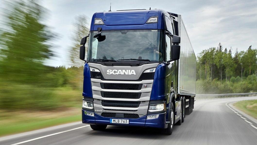Nyhet: Scania R 540. Her som 6x2 Highline.