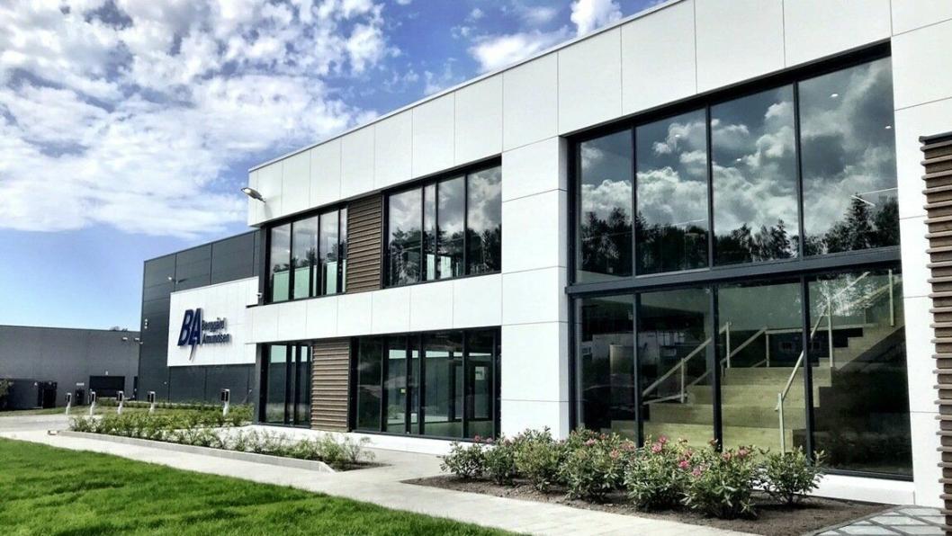 Nytt hovedkontor og sentrallager