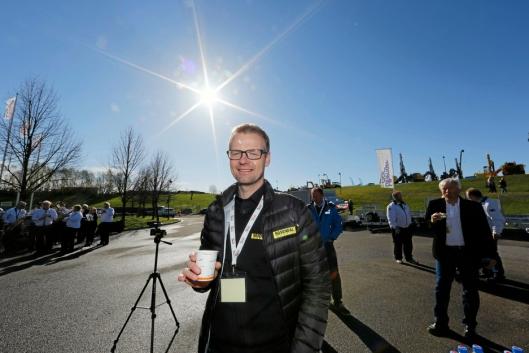 HAR SLUTTET: Ole Marius Rosendal sluttet som daglig leder i Rosendal Maskin 9. august 2019.